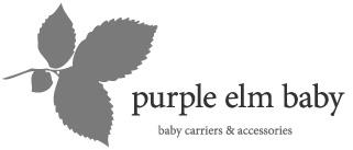 Purple Elm Baby_logga_svartvit